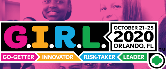 Join us at G.I.R.L. 2020 in Orlando, Florida!