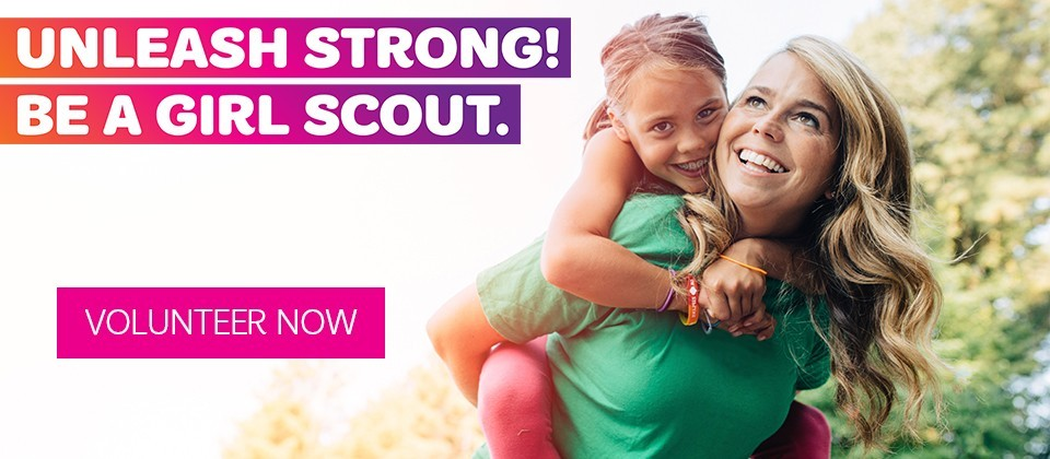 Help her unleash it at Girl Scouts